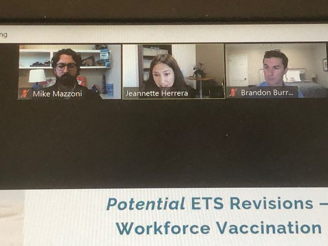 Another Great Webinar Today on Cal/OSHA ETS and AB 685 featured image