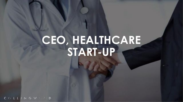 Case Study - CEO, healthcare start-up featured image
