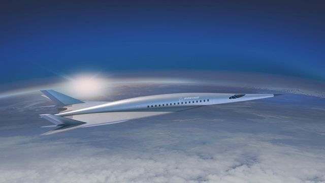 New York to London in 2 hours? Boeing unveils hypersonic airliner concept featured image
