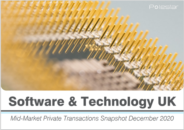 Software and Technology UK - Mid-Market Private Transactions Snapshot December 2020 featured image