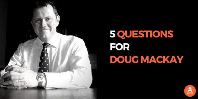 'The working week is far too long for it to just be about money': 5 questions for Doug Mackay featured image