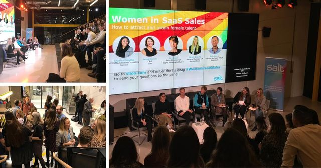Takeaways from our 'Women in Sales' event... featured image