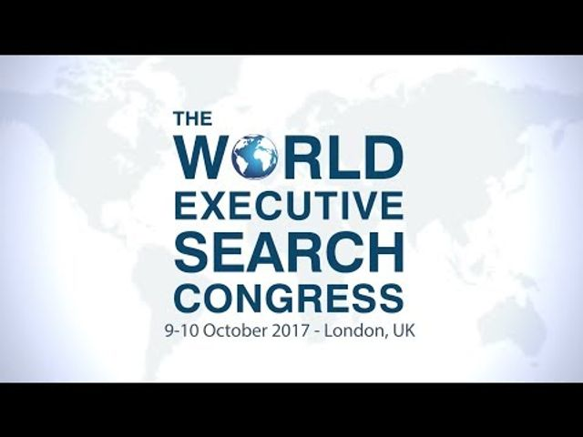 Watch a preview for the 2017 World Executive Search Congress! featured image