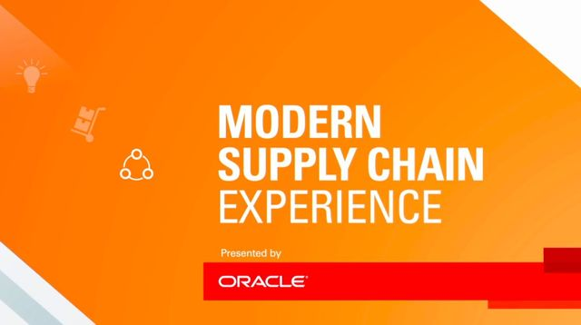 "Three must-see events at Oracle's ""Modern Supply Chain Experience"" featured image"