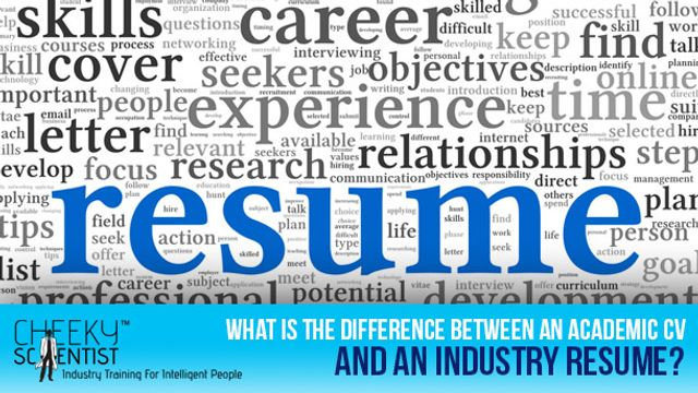 Moving from Academia to Industry?...Here are Some Tips on Building a Great Resume featured image