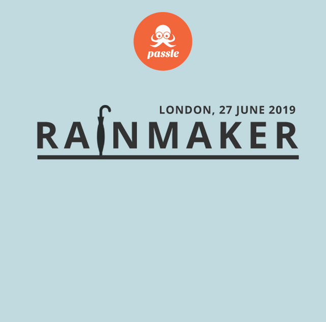 Passle Podcast - Rainmaker 2019 featured image