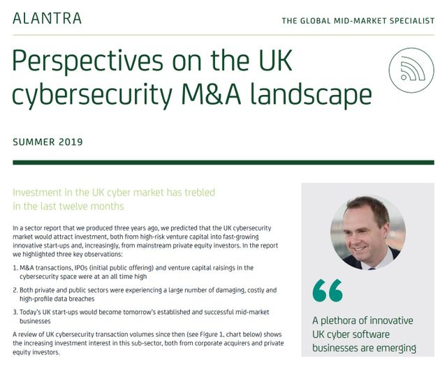 Perspectives on the UK cyber M&A landscape featured image