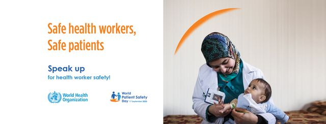Speaking up for health workers on World Patient Safety Day 2020 featured image
