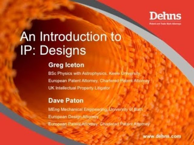Webinar: An Introduction to IP - Designs featured image