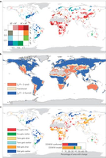 Climate change question: Do arid regions get drier? featured image