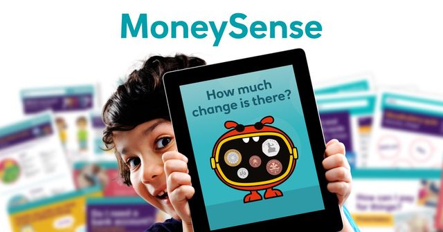 MoneySense Home Learning - financial education for your children through interactive activities and games featured image