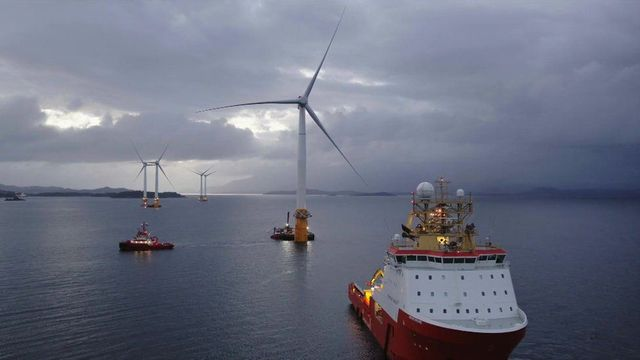 Wave of optimism as floating wind farm in the deep North Sea shows massive potential featured image