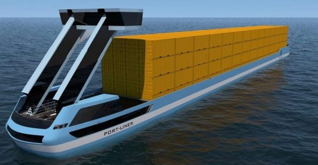 Large 'Tesla ships' all-electric container barges are launching this autumn featured image