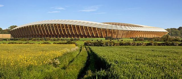Green Stadium made entirely of wood, for suitably named Forest Green Rovers FC featured image