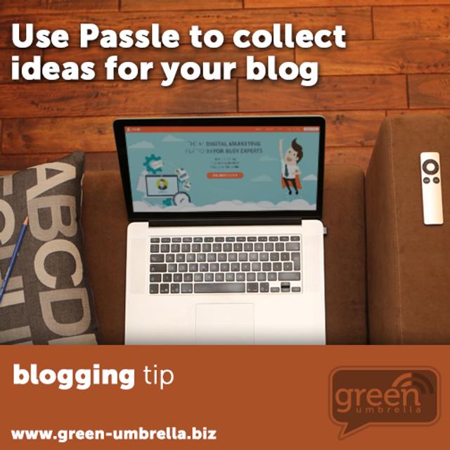 Passle on Green Umbrella featured image
