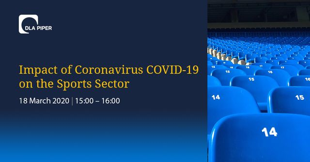 Webinar: Impact of coronavirus COVID-19 on the sports sector featured image