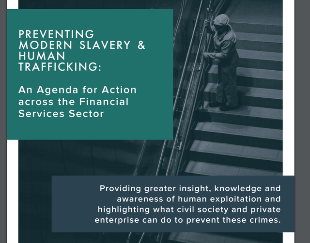 Modern Slavery: Report focusing on FS industry approach published featured image