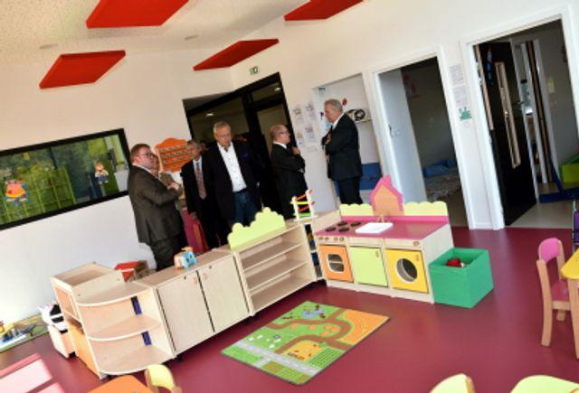Apach : du beau monde à l'inauguration du multi-accueil Les p'tites Pousses featured image