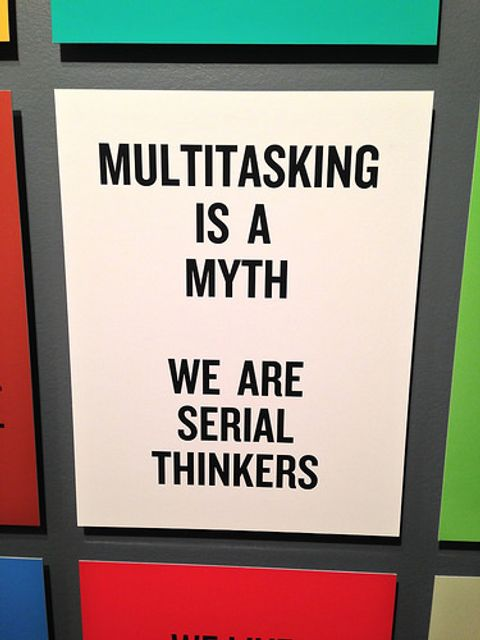 Glad to hear it: no such thing as multitasking featured image