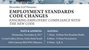 Employment Standards Codes Changes - Ensuring Employers' Compliance with the New Code