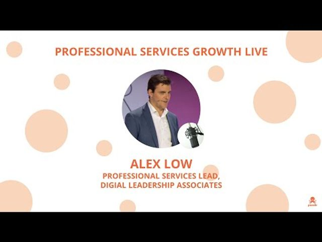 Professional Services Growth Live - Episode 1 - Social Media With Alex Low featured image