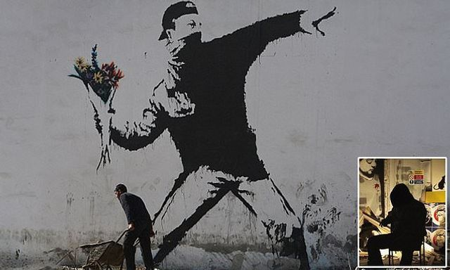 Banksy's flower bombs out... featured image