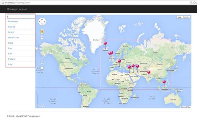 Google maps with ASP.Net MVC featured image