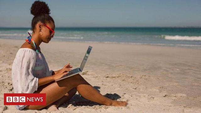 Is remote working from the beach a possibility? featured image