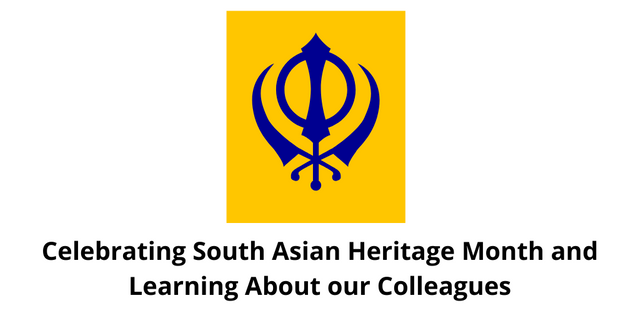 Celebrating South Asian Heritage Month and Learning About our Colleagues featured image