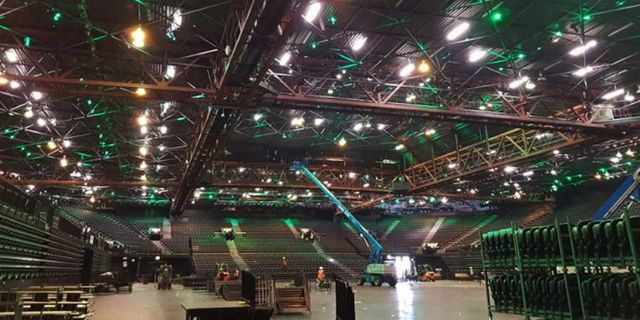 £800,000 LED Lighting & Control installed at Genting Arena featured image