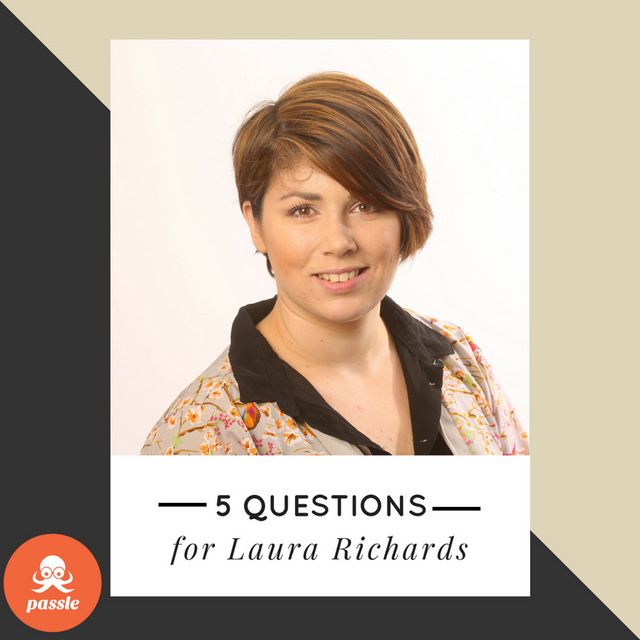 'It's all about telling a story': 5 questions for Laura Richards featured image