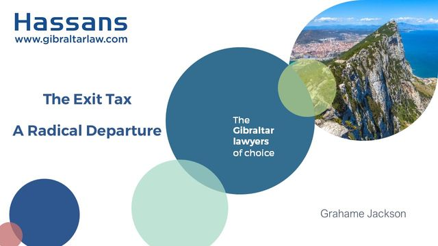 Gibraltar's Exit Tax featured image