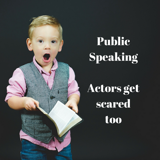 Is public speaking like acting? Actors get scared too… featured image