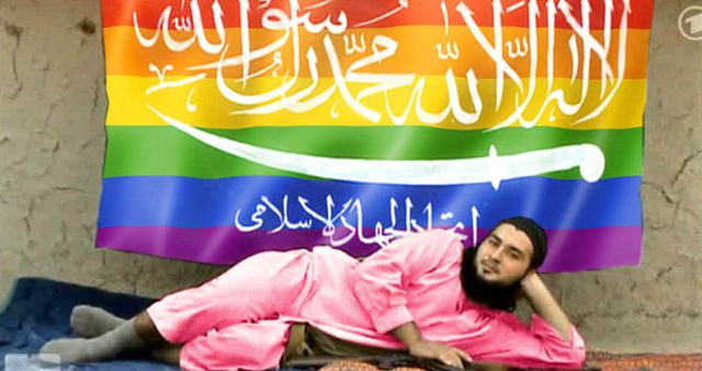 Anonymous hacks ISIS and makes it fabulously gay featured image