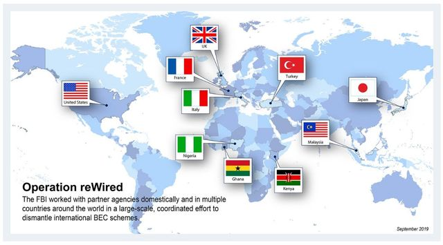 FBI's Operation reWired Targets International E-mail Scams featured image