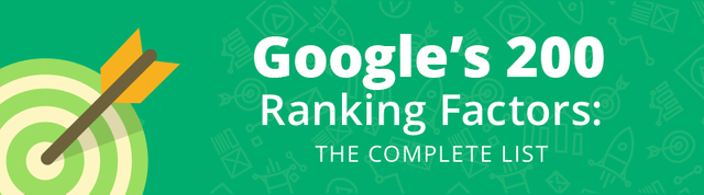 Google's 200 ranking factors featured image