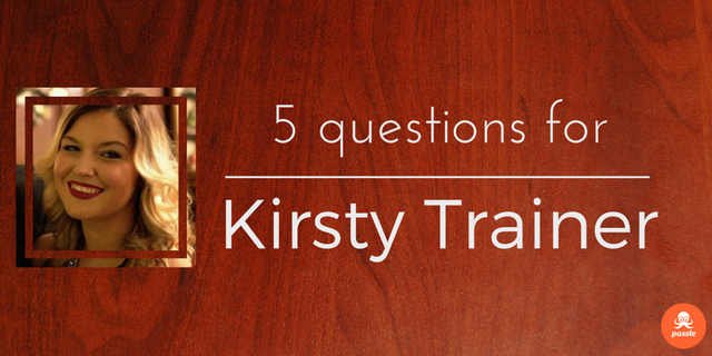 'Gone are the days when a company could over-promise and under-deliver': 5 questions for Kirsty Trainer featured image