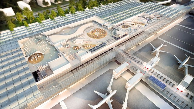 Airport video launched as redevelopment begins featured image