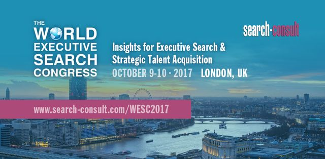 The 2017 World Executive Search Congress Shapes up to Become the Executive Search Event of the Year Yet Again featured image