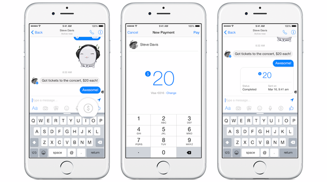 Facebook Introduces Free Friend-To-Friend Payments Through Messages featured image