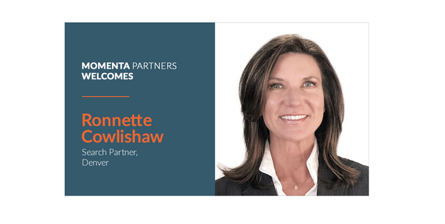 Momenta Partners Welcomes Ronnette Cowlishaw, Executive Search Partner for Midwest US featured image