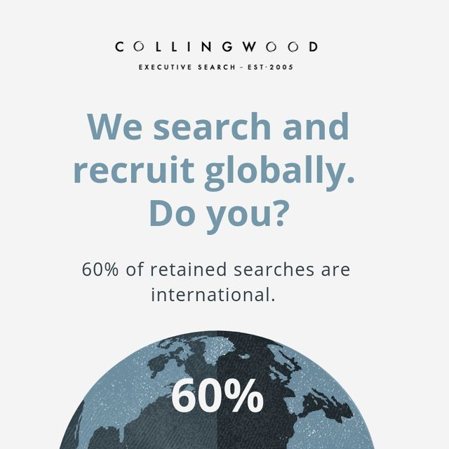 60% of our senior recruitment projects have been delivered outside the UK during 2018! featured image