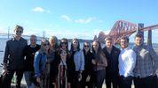 The Scottish practice boat cruise along the River Forth!