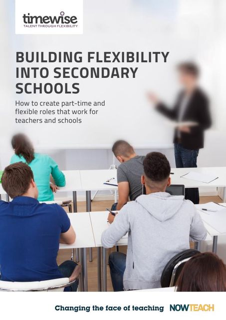 Building Flexibility into Secondary Schools: Summary featured image