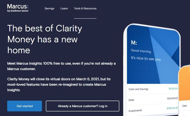 Goldman winds down Clarity Money to focus on Marcus Insights featured image