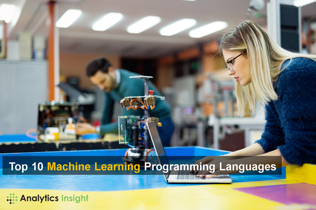 TOP 10 MACHINE LEARNING PROGRAMMING LANGUAGES featured image