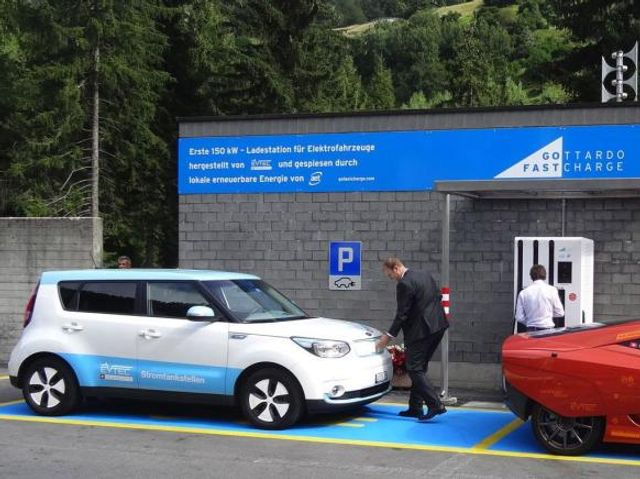 eMobility in der Schweiz: Ladestation für 150kW featured image