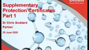 Webinar: Supplementary Protection Certificates - part 1