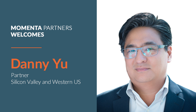Momenta Partners expands Silicon Valley Leadership, Names Danny Yu as Partner featured image