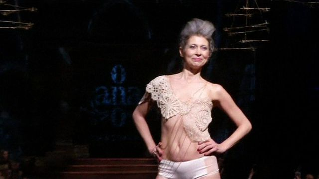 Breast cancer survivors model lingerie at New York Fashion Week featured image